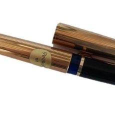 Plumas estilográficas antiguas: PLUMA VINTAGE PELIKAN 60 ROLLED GOLD - ALEMANIA AÑOS 80. Lote 199322245