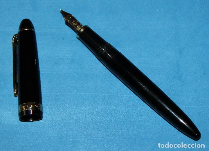 Plumas estilográficas antiguas: PLUMA ESTILOGRAFICA SAILOR 1911 NUEVA - Foto 3 - 201323346