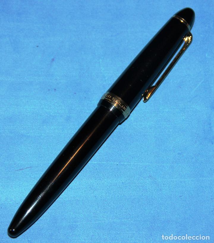 Plumas estilográficas antiguas: PLUMA ESTILOGRAFICA SAILOR 1911 NUEVA - Foto 4 - 201323346