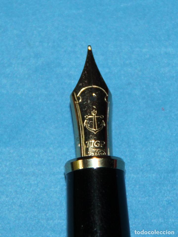 Plumas estilográficas antiguas: PLUMA ESTILOGRAFICA SAILOR 1911 NUEVA - Foto 8 - 201323346