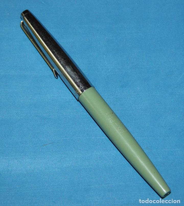 Plumas estilográficas antiguas: PLUMA ESTILOGRAFICA INOXCROM 33 - RARA - NUEVA - Foto 2 - 203263857