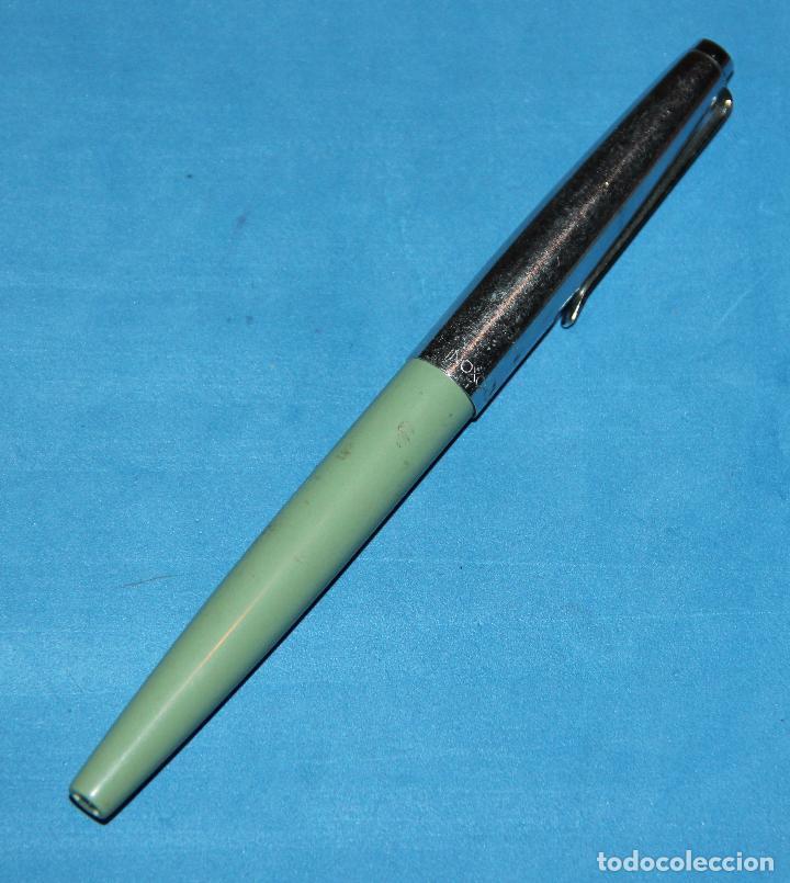 Plumas estilográficas antiguas: PLUMA ESTILOGRAFICA INOXCROM 33 - RARA - NUEVA - Foto 4 - 203263857