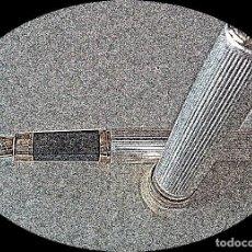Plumas estilográficas antiguas: PLUMA ALUMINIO USO REGALO COLECCION. Lote 204443981