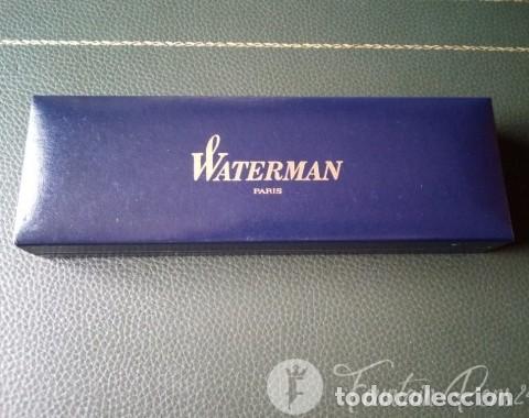 Plumas estilográficas antiguas: Waterman Élégance Ivory Gt pluma 18 kt F - Foto 4 - 205356790