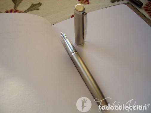 Plumas estilográficas antiguas: DELTA ACTIVA – Sterling Silver pluma 18 kt M - Foto 3 - 205360923