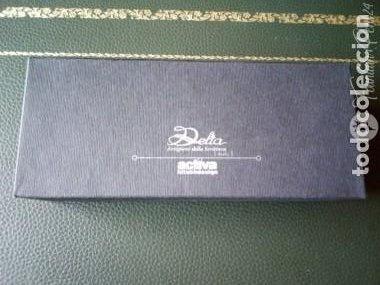Plumas estilográficas antiguas: DELTA ACTIVA – Sterling Silver pluma 18 kt M - Foto 4 - 205360923