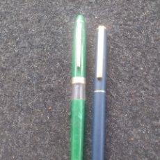 Penne stilografiche antiche: LOTE 2 PLUMAS MARKSMAN Y REFORM. Lote 206429561