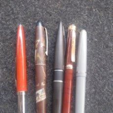 Penne stilografiche antiche: LOTE 5 PLUMAS. Lote 206431102
