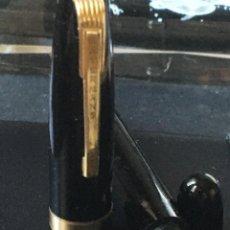 Plumas estilográficas antiguas: WATERMAN 515D ESTILOGRÁFICA EXCEPCIONAL POR TENER SISTEMA DE LLENAR TINTA POR BOTÓN. Lote 208018317