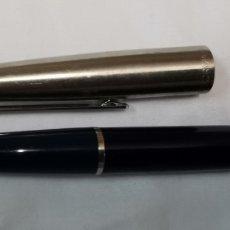 Penne stilografiche antiche: PLUMA INOXCROM 77 AZUL. Lote 209091920