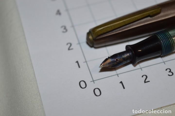 Plumas estilográficas antiguas: 3 PLUMAS antiguas y diferentes, IGNORO MARCA / SIN MARCAS o modelo - ¡Mira fotos y detalles! Lote 02 - Foto 4 - 209332976