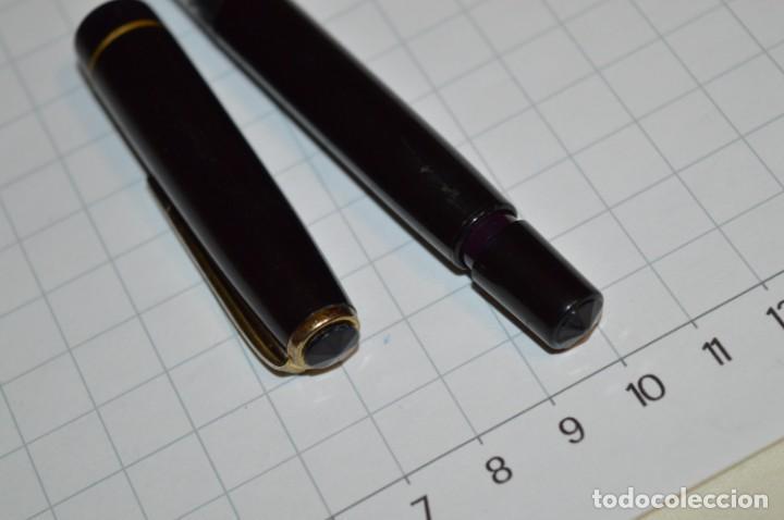 Plumas estilográficas antiguas: 3 PLUMAS antiguas y diferentes, IGNORO MARCA / SIN MARCAS o modelo - ¡Mira fotos y detalles! Lote 02 - Foto 12 - 209332976