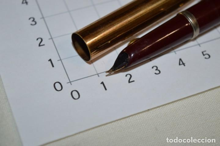Plumas estilográficas antiguas: 3 PLUMAS antiguas y diferentes, IGNORO MARCA / SIN MARCAS o modelo - ¡Mira fotos y detalles! Lote 02 - Foto 17 - 209332976