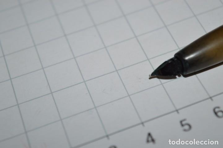 Plumas estilográficas antiguas: 3 PLUMAS antiguas / Diferentes MARCAS / modelos - ¡Mira fotografías y detalles! Lote 04 - Foto 8 - 209352477