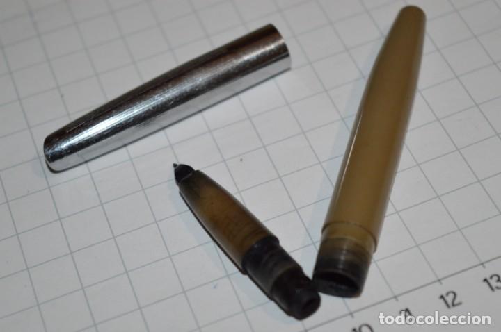 Plumas estilográficas antiguas: 3 PLUMAS antiguas / Diferentes MARCAS / modelos - ¡Mira fotografías y detalles! Lote 04 - Foto 9 - 209352477