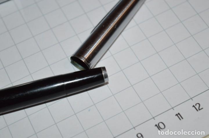 Plumas estilográficas antiguas: 3 PLUMAS antiguas / Diferentes MARCAS / modelos - ¡Mira fotografías y detalles! Lote 05 - Foto 11 - 209360876