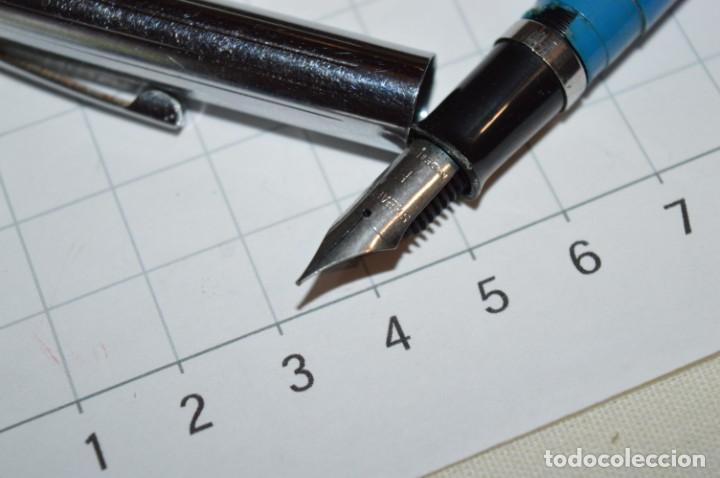 Plumas estilográficas antiguas: 3 PLUMAS antiguas / Diferentes MARCAS / modelos - ¡Mira fotografías y detalles! Lote 05 - Foto 12 - 209360876