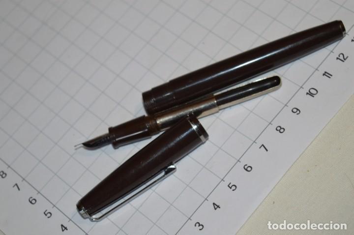 Plumas estilográficas antiguas: 3 PLUMAS antiguas / Diferentes MARCAS / modelos - ¡Mira fotografías y detalles! Lote 05 - Foto 20 - 209360876