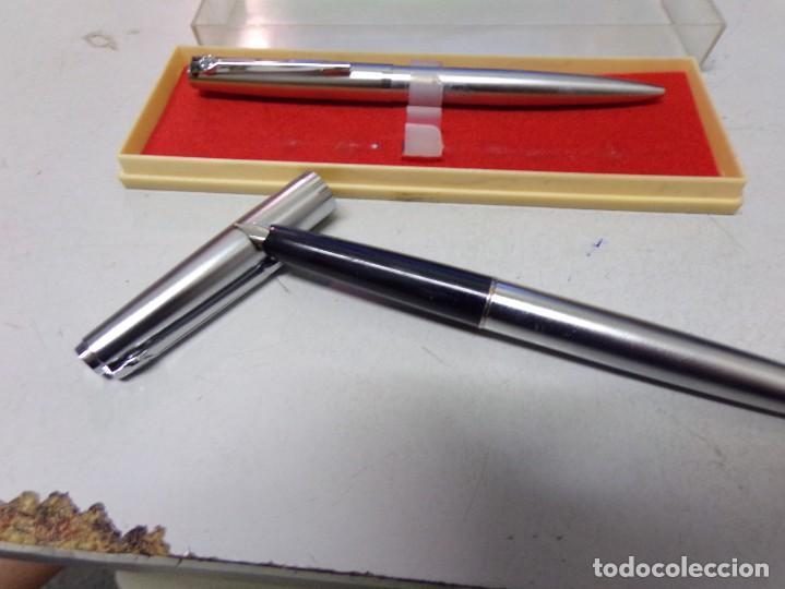 Plumas estilográficas antiguas: pluma estilografica nueva de tienda - Foto 2 - 210044112