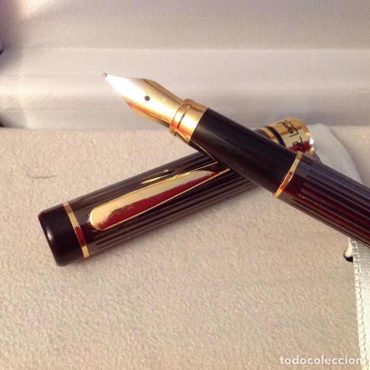 Plumas estilográficas antiguas: Preciosa pluma Estilográfica Bel bol en su estuche original, a estrenar. Ver fotos. - Foto 9 - 209032176