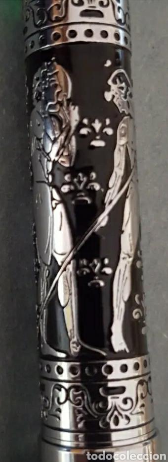 Plumas estilográficas antiguas: Pluma Estilográfica Alemana E E Iridio Olympo - Foto 5 - 210789446