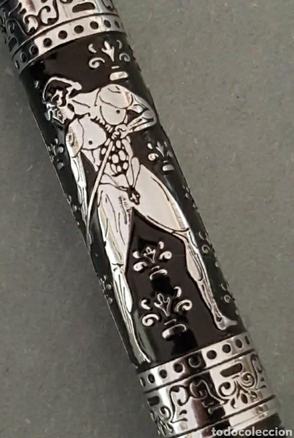 Plumas estilográficas antiguas: Pluma Estilográfica Alemana E E Iridio Olympo - Foto 6 - 210789446