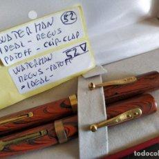 Plumas estilográficas antiguas: PLUMA WATERMAN IDEAL REGUS PATOFF - LONDON . IDEAL. 52V. Lote 210672236