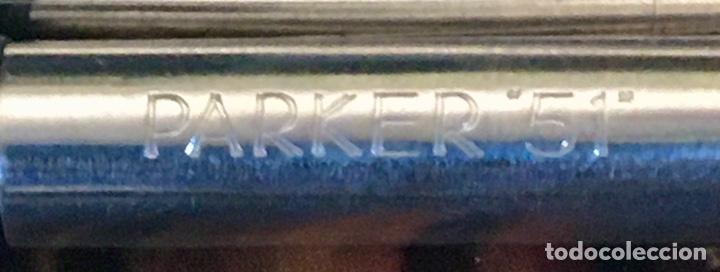 Plumas estilográficas antiguas: PARKER 51 R. SILVER 1950' - Foto 8 - 213399253