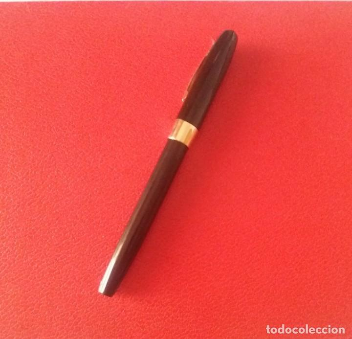 Plumas estilográficas antiguas: ESTILOGRAFICA SHEAFFER 550, CHAPADO ORO 23 K. - Foto 3 - 214266063