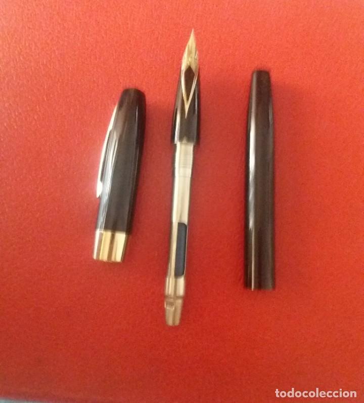 Plumas estilográficas antiguas: ESTILOGRAFICA SHEAFFER 550, CHAPADO ORO 23 K. - Foto 7 - 214266063