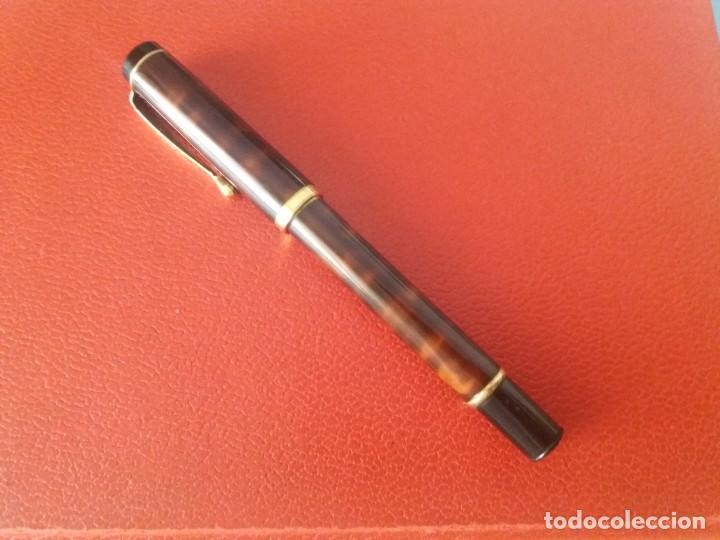 Plumas estilográficas antiguas: ESTILOGRAFICA DATOR NN 9050, MARRON. - Foto 2 - 214334253