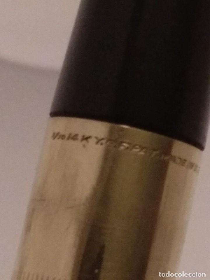 Plumas estilográficas antiguas: Estilografica Eversharp Envoy 1948 Chapado Oro 14K - Foto 7 - 214516581