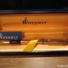 Plumas estilográficas antiguas: PLUMA WATERMAN MAESTRO PLATEADO. Lote 214581471