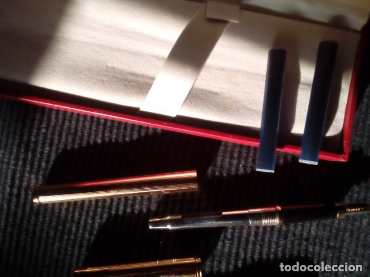 Plumas estilográficas antiguas: PLUMA ESTILOGRAFICA SHEAFFER SIN USAR. EN ESTUCHE ORIGINAL. - Foto 4 - 215465576
