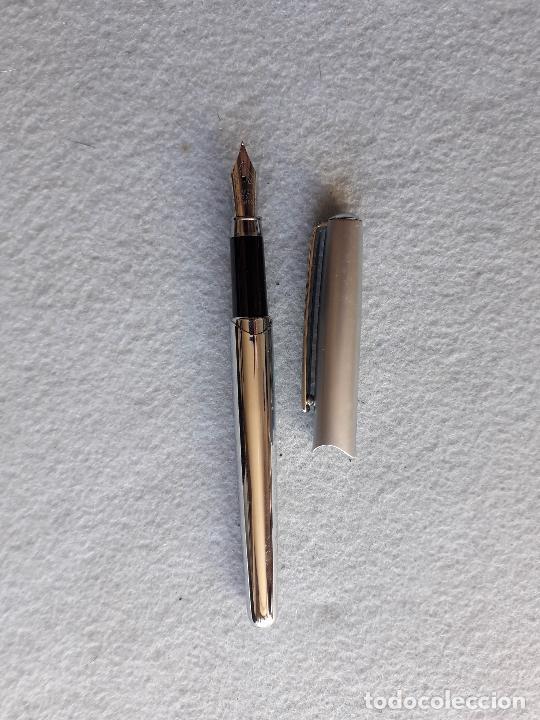 Plumas estilográficas antiguas: Pluma estilográfica Marca Hobby & Work. - Foto 3 - 217091040