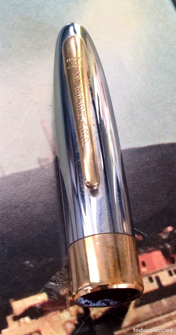 Plumas estilográficas antiguas: EVERSHARP SYMPHONY DELUXE 1949 - Foto 5 - 218732471
