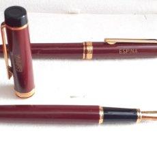 Plumas estilográficas antiguas: PLUMA Y Y BOLI INOXCROM SPAIN. Lote 218784333