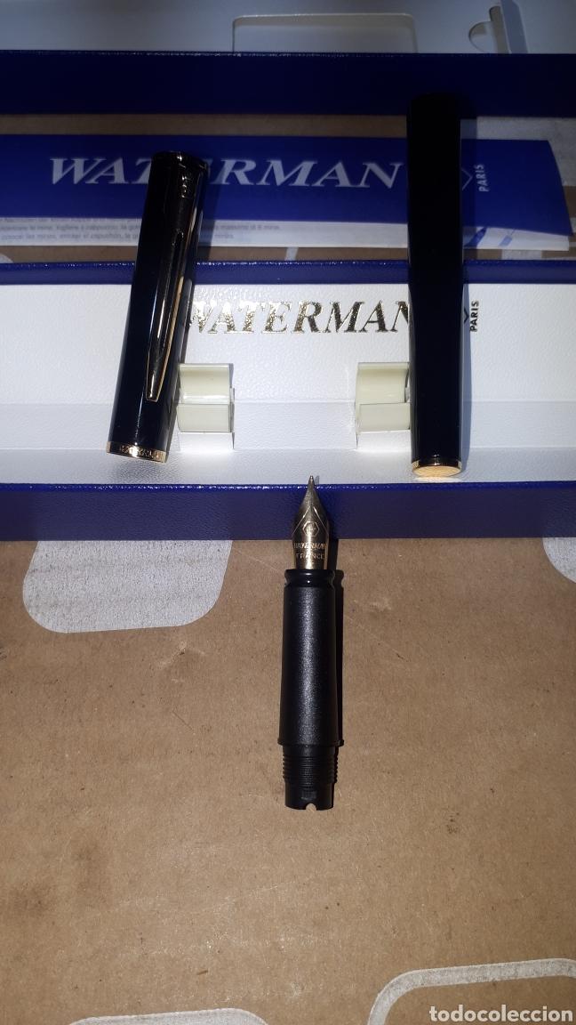 Plumas estilográficas antiguas: Pluma estilográfica WATERMAN PARIS LEER DESCRIPCION - Foto 2 - 219699347
