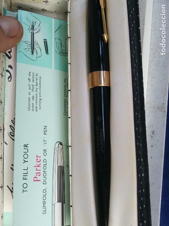 PLUMA ESTILOGRAFICA PARKER 17 (Plumas Estilográficas, Bolígrafos y Plumillas - Plumas)