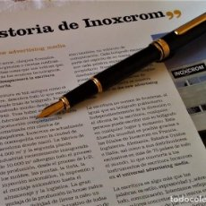 Plumas estilográficas antiguas: PLUMA ESTILOGRAFICA INOXCROM ANDREAS. Lote 221079076