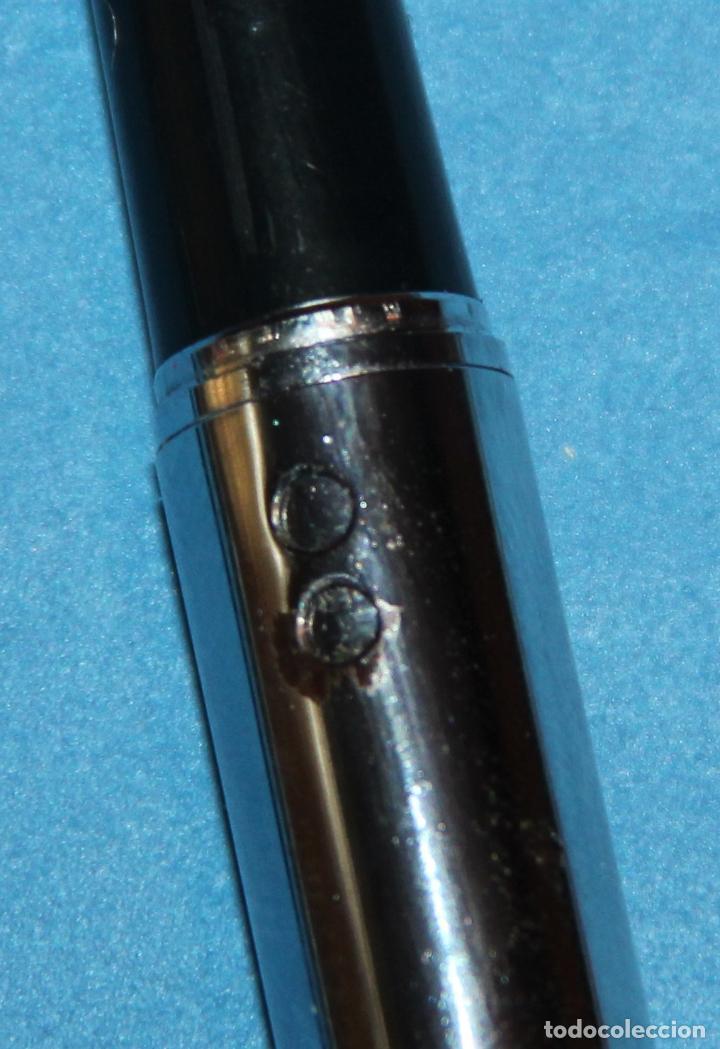 Plumas estilográficas antiguas: PLUMA ESTILOGRAFICA INOXCROM - NUEVA - Foto 5 - 221691522