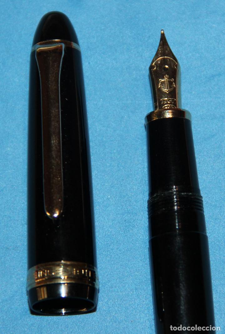 Plumas estilográficas antiguas: PLUMA ESTILOGRAFICA SAILOR 1911 - NUEVA - Foto 4 - 222028790