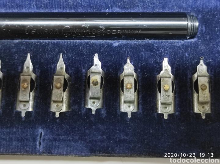 Plumas estilográficas antiguas: ANTIGUA PLUMA PELIKAN GRAPHOS GERMANY - Foto 9 - 222062397