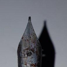 Plumas estilográficas antiguas: ANTIGUA PLUMA DE BAQUELITA. Lote 222078478