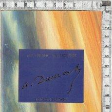 Penne stilografiche antiche: CATALOGO PUBLICITARIO DEDICADO A LA PLUMA MONTBLANC MEISTERSTÜCK ALEXANDRE DUMAS-1996.. Lote 222080810