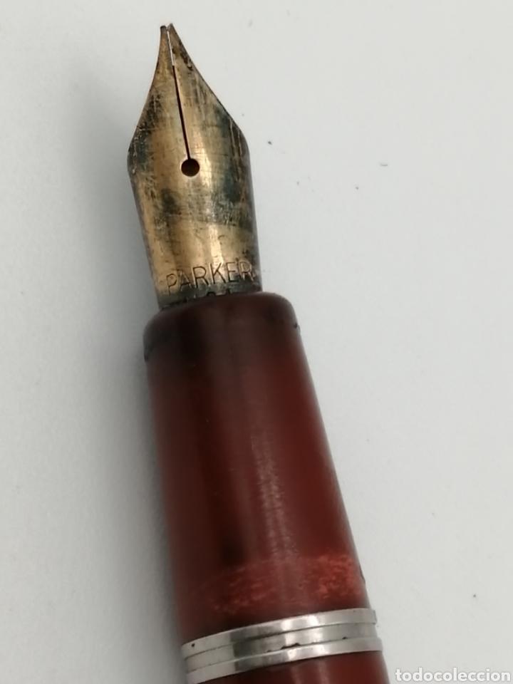 Plumas estilográficas antiguas: Antigua pluma Parker - Foto 3 - 223532206