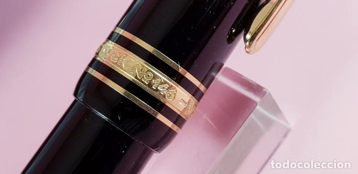 Plumas estilográficas antiguas: 9393/pluma estilográfica-montblanc meisterstuck 146-germany-excelente-cajas-papeles-ver fotos - Foto 10 - 241307370