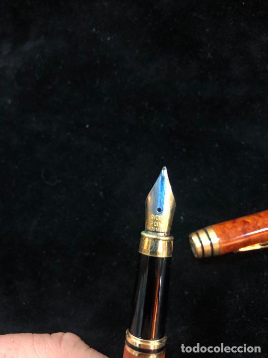 Plumas estilográficas antiguas: PLUMA ESTILOGRAFICA IRIDIUM POINT GERMANY - - Foto 8 - 228187630