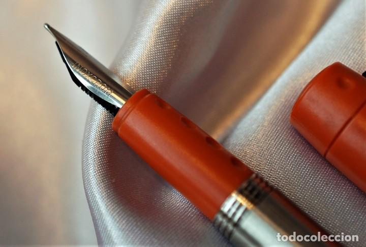 Plumas estilográficas antiguas: Juego Inoxcrom ID - Foto 3 - 230882750