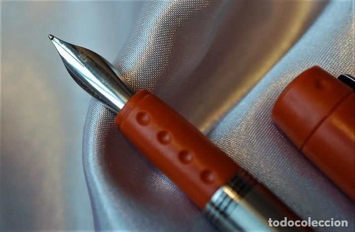 Plumas estilográficas antiguas: Juego Inoxcrom ID - Foto 4 - 230882750